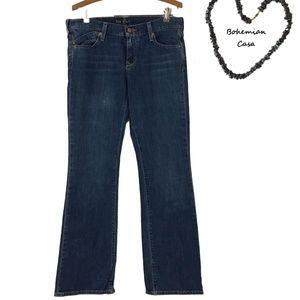 OLD NAVY The Flirt Denim Bootcut Jeans 6 Regular